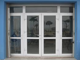 Cửa đi mở quay 4 cánh - cửa nhôm kính xingfa